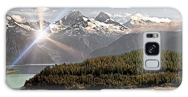 Alaskan Mountain Reflection Galaxy Case