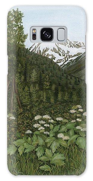 Alaskan Mountains Galaxy Case