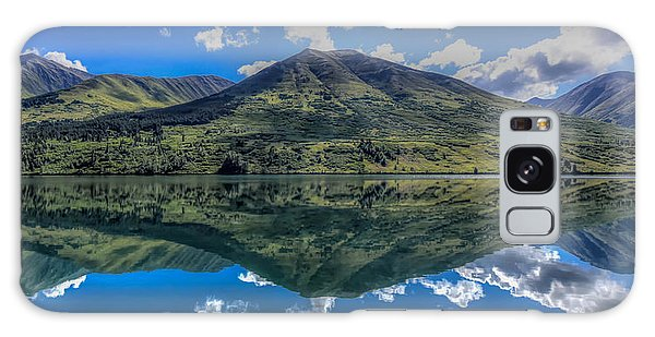 Alaskan Reflections Galaxy Case by Don Mennig
