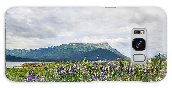 Alaskan Wildflowers Galaxy Case