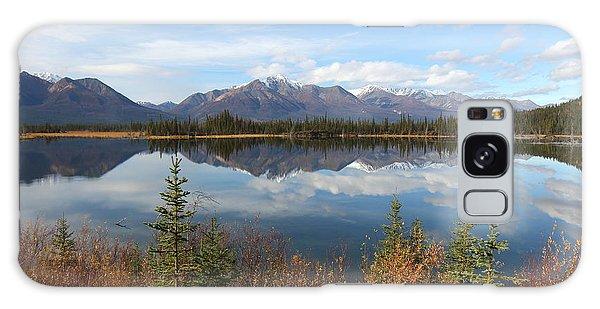 Reflections At Alaska's Mentasta Lake Galaxy Case