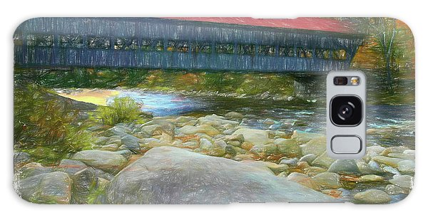 Albany Covered Bridge Nh. Galaxy Case