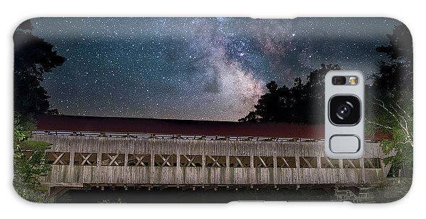 Albany Covered Bridge Under The Milky Way Galaxy Case
