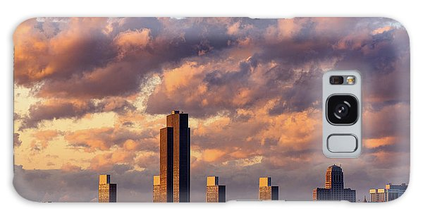 Albany Sunset Skyline Galaxy Case