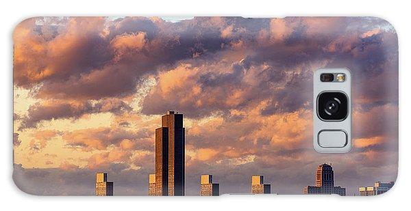 Albany Sunset Skyline Galaxy Case