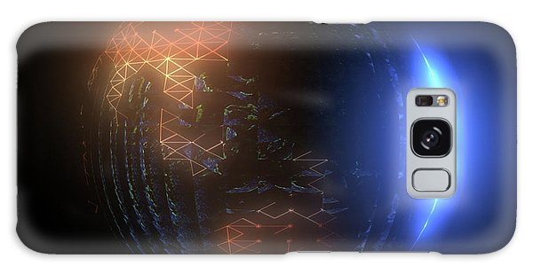 Albedo - Transition From Night To Day Galaxy Case
