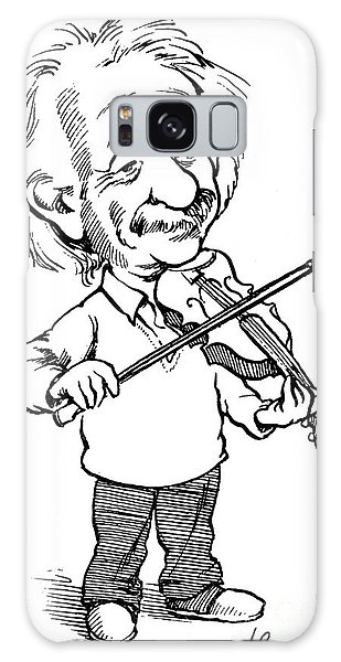 Violin Galaxy Case - Albert Einstein (1879-1955) by Granger