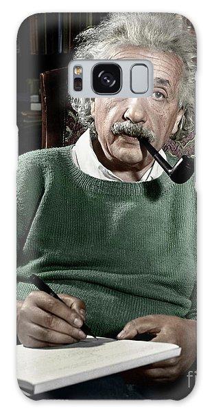 Galaxy Case - Albert Einstein by Granger