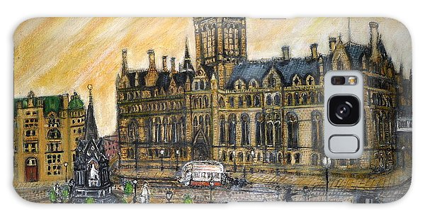 Albert Square Manchester 1900 Galaxy Case