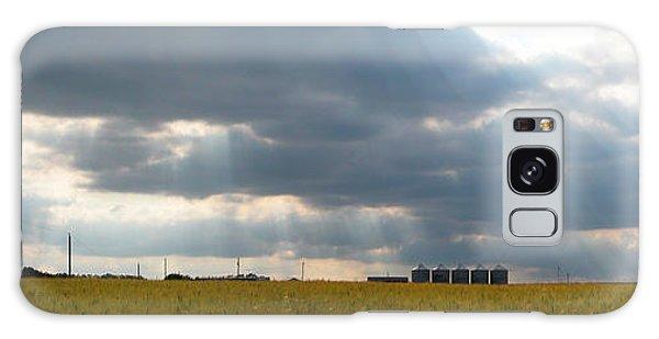 Alberta Wheat Field Galaxy Case by Stuart Turnbull