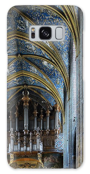 Albi Cathedral Nave Galaxy Case by RicardMN Photography