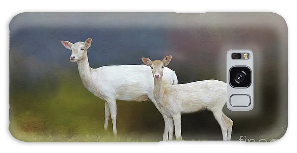 Albino Deer Galaxy Case