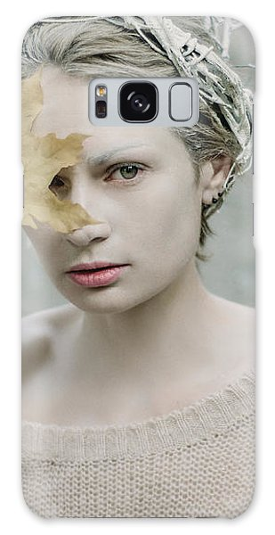 Albino In Forest. Prickle Tenderness Galaxy Case