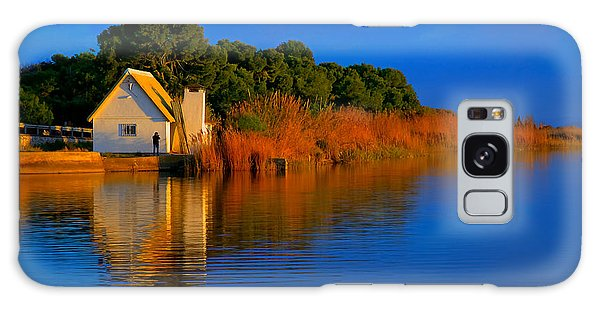 Albufera Blue. Valencia. Spain Galaxy Case
