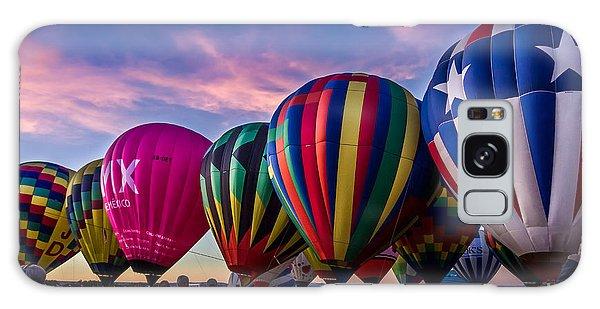 Albuquerque Hot Air Balloon Fiesta Galaxy Case