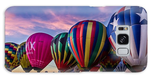 Albuquerque Hot Air Balloon Fiesta Galaxy Case