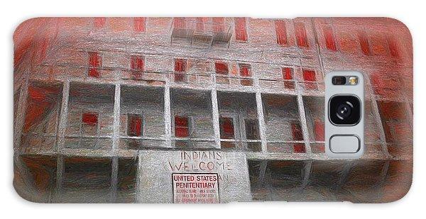 Alcatraz Federal Penitentiary Galaxy Case by Michael Cleere