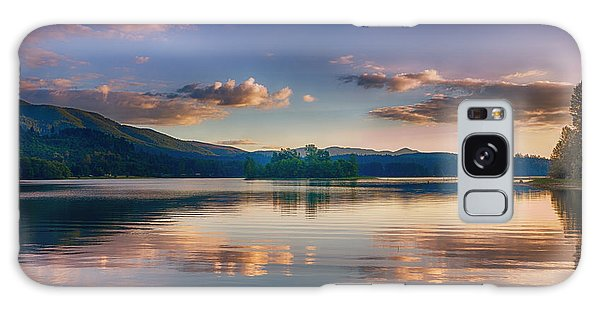 Alder Lake Sunset Galaxy Case