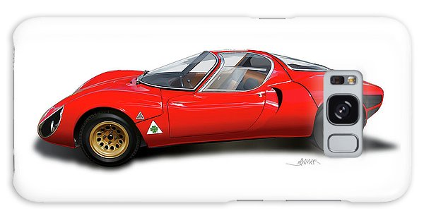 Alfa Romeo 33 Stradale 1967 Galaxy Case