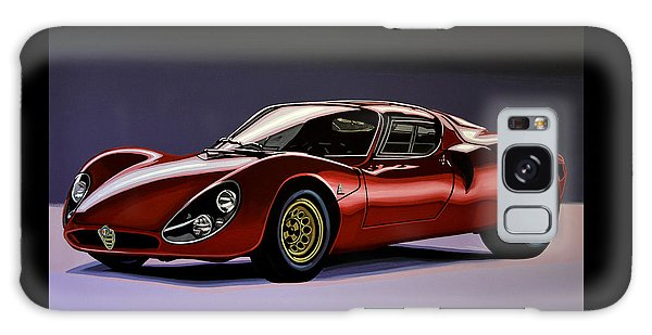 Coupe Galaxy Case - Alfa Romeo 33 Stradale 1967 Painting by Paul Meijering