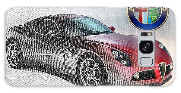 Automotive Galaxy Case - Alfa Romeo 8c Competizione  by Serge Averbukh