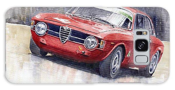 Red Galaxy Case - Alfa Romeo Giulie Sprint Gt 1966 by Yuriy Shevchuk