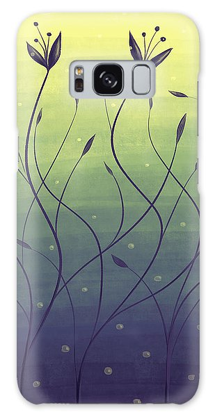 Algae Plants In Green Water Galaxy Case