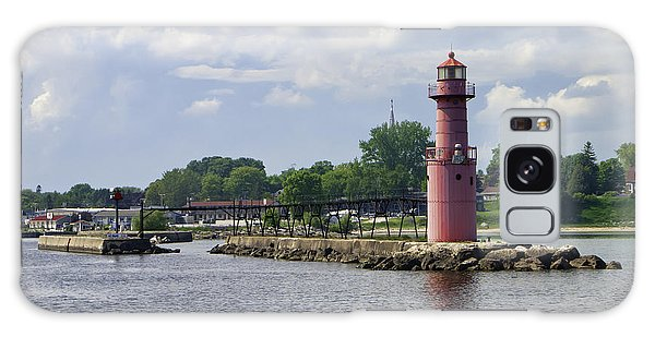 Algoma Pierhead Light Galaxy Case