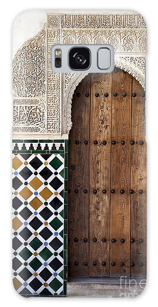 Islam Galaxy Case - Alhambra Door Detail by Jane Rix