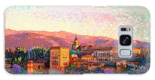 Colour Galaxy Case - Alhambra, Granada, Spain by Jane Small