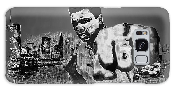 Sportsman Galaxy Case - Ali The Greatest - Tribute B/w by Ian Gledhill