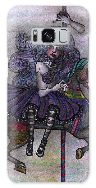 Alice And Merry-go-round Galaxy Case