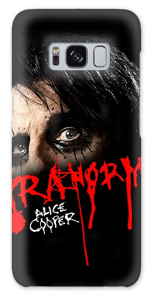 Alice Cooper Galaxy Case - Alice Cooper Paranormal Face by Ratnawati