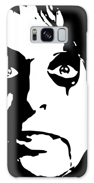 Alice Cooper Galaxy Case - Alice Cooper Pop Art by Filip Hellman