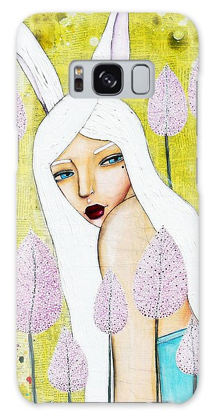 Galaxy Case featuring the mixed media Alice In Oz by Natalie Briney