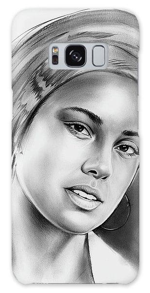 Rhythm And Blues Galaxy S8 Case - Alicia Keys 2 by Greg Joens