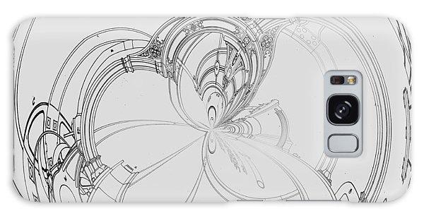 Alien Flywheel Galaxy Case