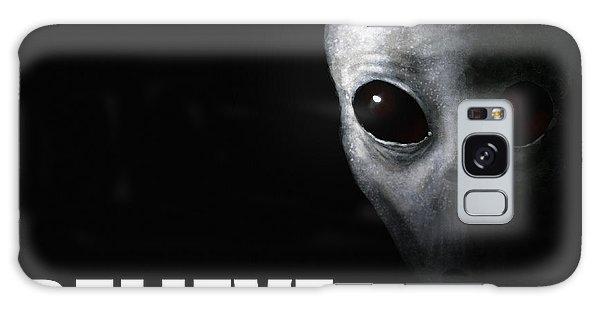 Strange Galaxy Case - Alien Grey - Believe by Pixel Chimp
