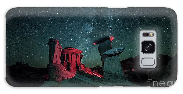Galaxy Case featuring the photograph Alien Landscape by Brian Spencer