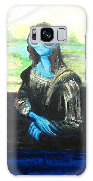 alien Mona Lisa Galaxy Case
