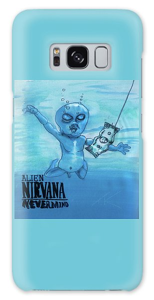 Alien Nevermind Galaxy Case
