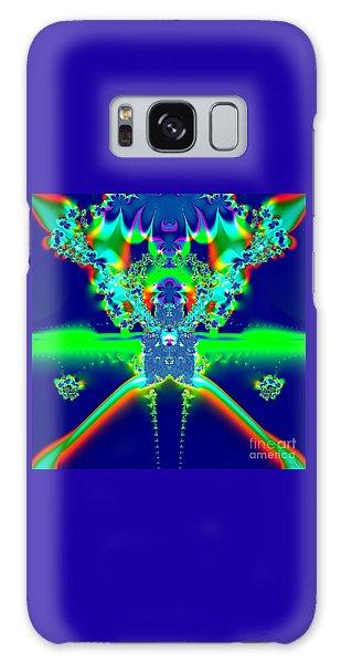 Alien Poodle Fractal 96 Galaxy Case by Rose Santuci-Sofranko