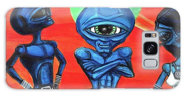 Alien Posse Galaxy Case