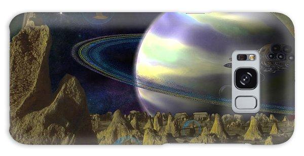 Alien Repose Galaxy Case