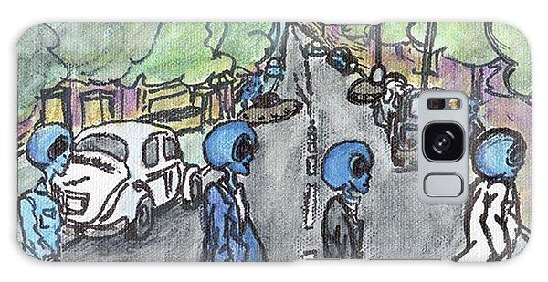 Alien Road Galaxy Case