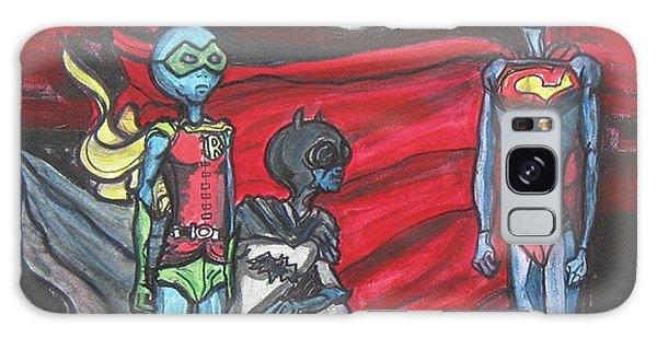 Alien Superheros Galaxy Case