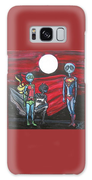 Alien Superheros Galaxy Case