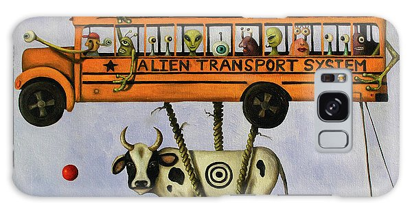 Alien Transport System Galaxy Case by Leah Saulnier The Painting Maniac