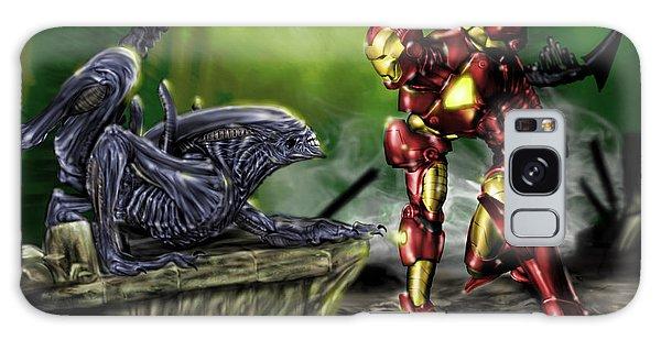 Alien Vs Iron Man Galaxy Case