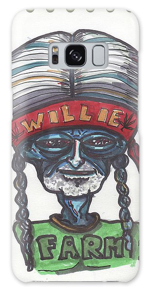 alien Willie Nelson Galaxy Case